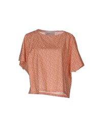 Gold Case Blouses Orange