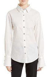 Cinq A Sept Women's Palma Bow Back Blouse