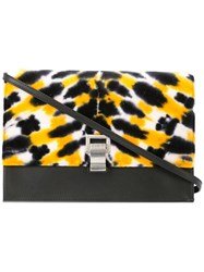 Proenza Schouler Tie Dye Small Lunch Bag With Strap Black