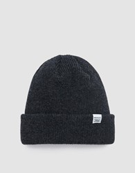 Norse Projects Beanie In Charcoal Melange