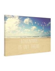 Marmont Hill Adventure Is Out There Painting Print On Wrapped Canvas Beige