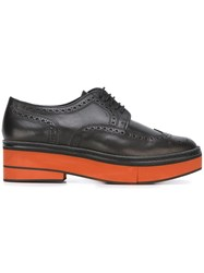 Robert Clergerie 'Safel' Platform Brogues Black