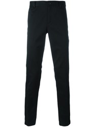 Givenchy Star And Stripe Trimmed Trousers Black