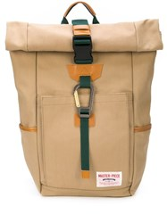 Master Piece Link Backpack Brown