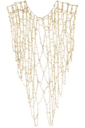 Rosantica Chimera Gold Tone Pearl Body Chain