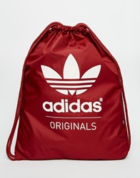 Adidas Originals Drawstring Backpack Ab2759 Red