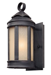 Troy Lighting Andersons Forge Outdoor 1460 Wall Light Gray