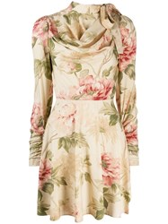 Zimmermann Antique Peony Dress Neutrals