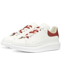 Alexander Mcqueen Degrade Wedge Sole Sneaker White