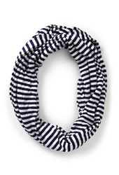 Forever 21 Striped Infinity Scarf