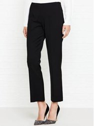 Lk Bennett L.K. Nia Fitted Cropped Trouser Black
