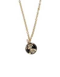 Red Valentino Redvalentino Necklaces Black