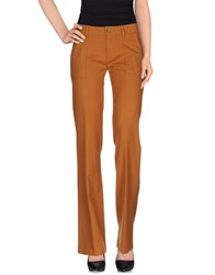 True Tradition Trousers Casual Trousers Women Rust