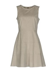 Toy G. Short Dresses Light Grey