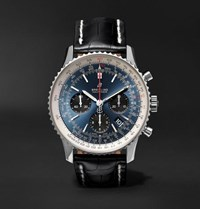 Breitling Navitimer 8 B01 Chronometer 43Mm Stainless Steel And Alligator Watch Blue