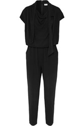 By Malene Birger Emerly Jersey Jumpsuit Black