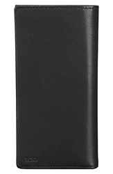 Tumi 'Chambers' Leather Breast Pocket Wallet Black