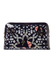 Ted Baker Karie Large Cosmetic Bag Blue