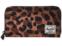 Herschel Thomas Rfid Leopard Wallet Handbags Animal Print
