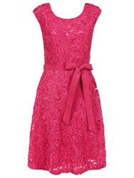 Kaliko Cornelli Lace Dress Mid Pink