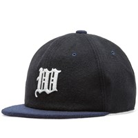 White Mountaineering Embroidered Baseball Cap Black
