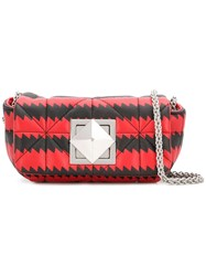 Sonia Rykiel Copain Printed Crossbody Bag Red