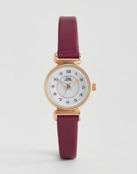 Limit Berry Leather Watch 6202.37 Purple