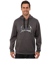 Cinch Pullover Technical Fleece Hoodie Grey Men's Sweatshirt Gray