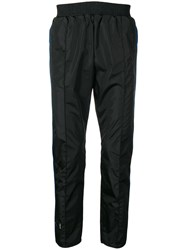 Unravel Project Mid Rise Track Trousers Black