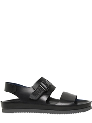Officine Creative Leather Sandals Black
