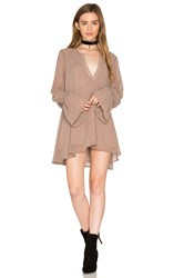 Show Me Your Mumu Perveen Pirate Tunic Dress Taupe