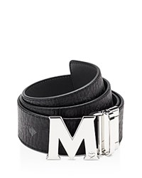 Mcm Claus Reversible Belt Black