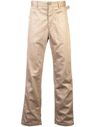 Engineered Garments Cargo Style Trousers Nude And Neutrals