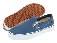 Vans Classic Slip On Core Classics Navy Canvas Shoes