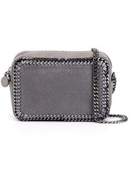 Stella Mccartney 'Falabella' Top Zip Crossbody Bag Grey