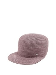 Maison Michel Shariff Straw Hat Purple