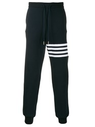Thom Browne 4 Bar Stripe Navy Sweatpants 60