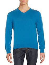 Saks Fifth Avenue Cashmere V Neck Sweater King Fishe
