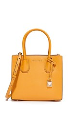 Michael Michael Kors Medium Mercer Messenger Bag Marigold