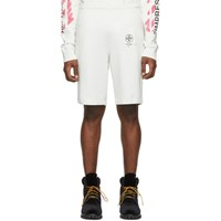 Off White Diag Stencil Shorts