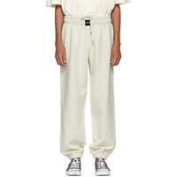 Vetements White Oversized Inside Out Lounge Pants
