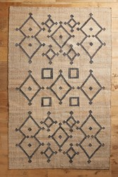 Anthropologie Platte Rug Neutral