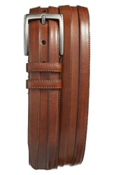 Mezlan Men's Palma Leather Belt Cognac
