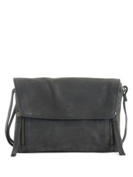 Day And Mood Mynthe Leather Crossbody Bag Black