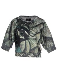 Ed 2.0 Topwear Sweatshirts Women Military Green