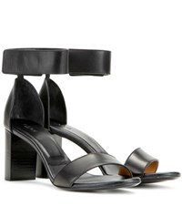 Chloe Leather Sandals Black