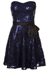 Morgan Robyby Cocktail Dress Party Dress Marine Dark Blue