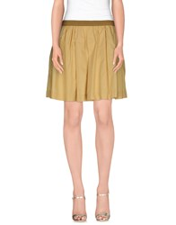 Woolrich Skirts Knee Length Skirts Women Coral