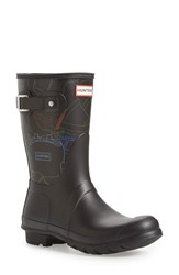 Women's Hunter 'Original Short Festival Print' Rain Boot