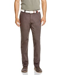 The Men's Store At Bloomingdale's Brushed Cotton Regular Fit Pants Pavement